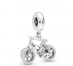 Charm pendant Bicyclette Brillante en Argent 925/1000 Pandora 797858CZ