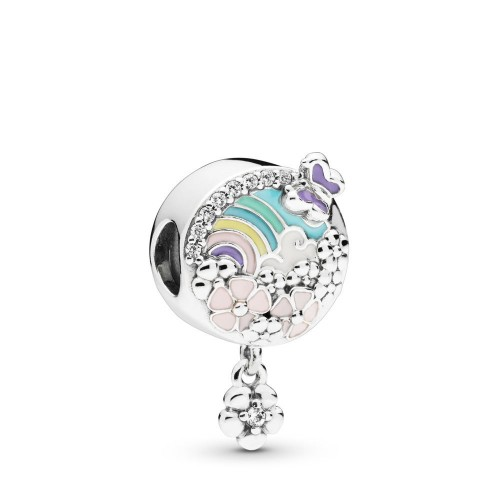 Charm Arc-en-Ciel floral en Argent 925/1000 Pandora 797999ENMX