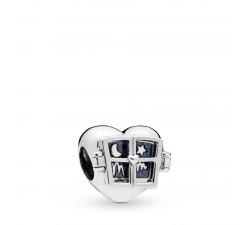 Charm Fenêtre de Ton Cœur en Argent 925/1000 Pandora 798006EN63