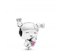 Charm Petite fille en Argent 925/1000 Pandora 798016EN160