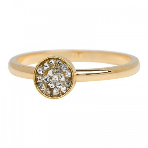 Bague Cup Stones IXXXI 2 mm - Or