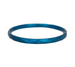 Bague Hammerite IXXXI 2 mm - Bleu