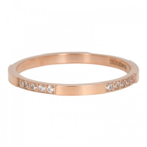Bague CHIC IXXXI 2 mm - Or rose