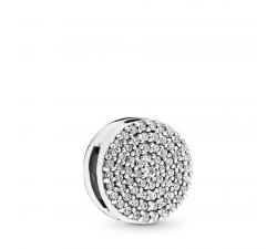 Élégance Éblouissante, charm clip en argent 925/1000° Pandora - 797583CZ