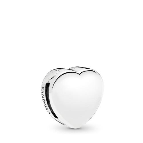 Cœur, charm clip en argent 925/1000° Pandora - 797620