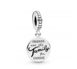 Charm Pendant Famille de Cœur en Argent 925/1000 Pandora 798124EN16