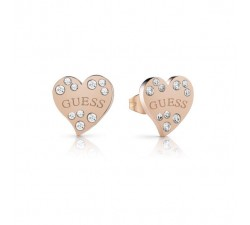 Boucles d'oreilles Guess HEART WARMING UBE78053