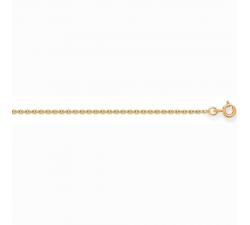 Chaîne forçat or jaune 750/1000 by Stauffer
