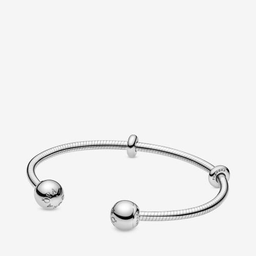 bracelet jonc pandora argent