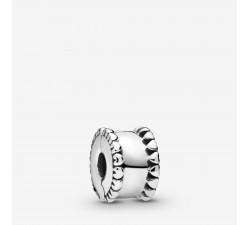 Charm Clip Cœurs Perlés en Argent 925/1000 PANDORA 798560C00