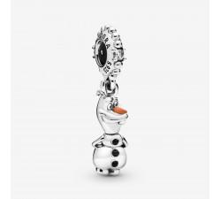 Charm Pendant Disney La Reine des Neiges Olaf en Argent 925/1000 Pandora 798455C01