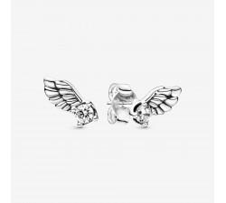 Clous d'Oreilles Aile d'Ange Scintillants en Argent 925/1000ᵉ Pandora 298501C01
