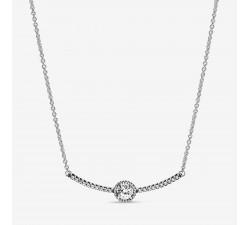 Collier à Barre Sphère Scintillante en Argent 925/1000 PANDORA 398490C01-45
