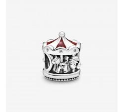Charm Carrousel de Noël en Argent 925/1000 PANDORA 798435C01