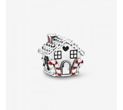 Charm Maison de Pain d'Épices en Argent 925/1000 PANDORA 798471C01
