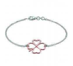 Bracelet INANNA argent 925 bicolore et oxydes de zirconium JOURDAN ADY 002