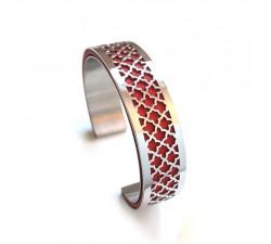 Bracelet acier manchette 15 mm ODA DREAMS Lily