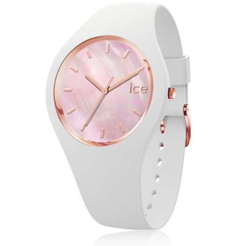 Montre ICE WATCH ICE pearl - White Pink SMALL 34 MM 016939