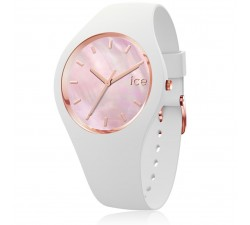Montre ICE WATCH ICE pearl - White Pink MEDIUM 40 MM 017126