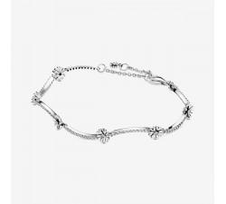 Bracelet Marguerite Scintillant en argent 925/1000 Pandora - 598807C01