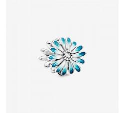 Charm Marguerite Bleu en Argent 925/1000 PANDORA 798775C01