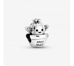 Charm Cactus Free Hugs (Câlins Gratuits) en Argent 925/1000 PANDORA 798786C01