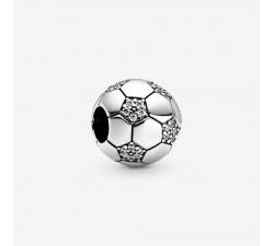 Charm Ballon de Football Scintillant en Argent 925/1000 PANDORA 798795C01