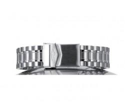 Bracelet de montre Paillasson SCUBA acier 18mm polis-satiné (largeur 18/20 mm) 2361800