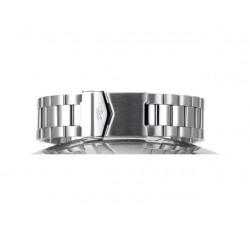 Bracelet de montre Paillasson OCEAN Acier 22mm satiné-polis (largeur 22/24 mm) 2383700