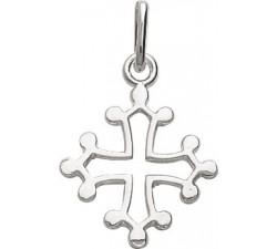Pendentif croix Occitane argent 925/1000 by Stauffer