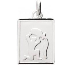 Pendentif zodiaque Verseau argent 925/1000 by Stauffer