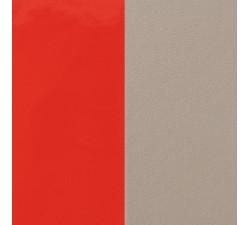 Vinyles boucles d'oreilles 16 mm Les Georgettes - Corail vernis / Taupe 703218284DG000