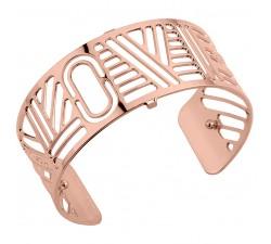 Bracelet manchette 25 MM LES GEORGETTES doré rose brillant Love 70341744000000