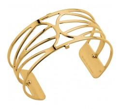 Bracelet manchette 25 MM LES GEORGETTES doré brillant Garden 70344320100000