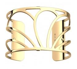 Bracelet manchette 40 MM LES GEORGETTES doré brillant Rosée 70356000100000