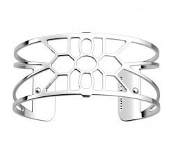 Bracelet manchette 25 MM LES GEORGETTES plaqué argent brillant Balade 70356021600000