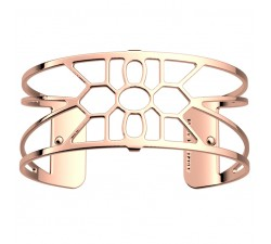 Bracelet manchette 25 MM LES GEORGETTES doré rose brillant Balade 70356024000000