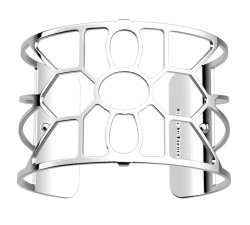 Bracelet manchette 40 MM LES GEORGETTES plaqué argent brillant Balade 70356031600000
