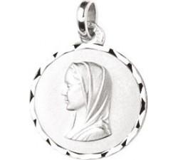 Médaille vierge argent 925/1000 by Stauffer