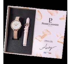 Coffret montre femme Pierre Lannier Eolia Bracelets interchangeables 360G908
