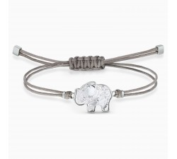 Bracelet Swarovski Power Collection Elephant, gris, acier inoxydable 5518653
