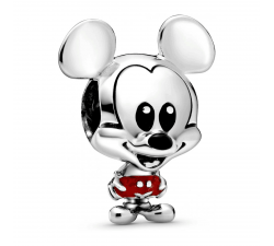 Charm Disney Mickey Pantalon Rouge en Argent 925/1000 PANDORA 798905C01