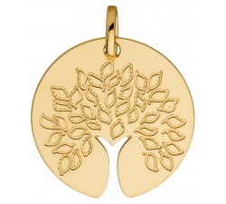Pendentif arbre de vie or jaune 750/1000 by Stauffer