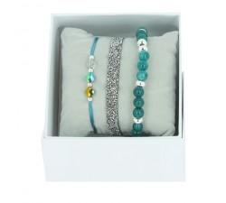 Strass Box Fabric 6 Les interchangeables Bleu Gris 2 A51737