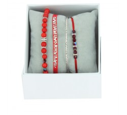 Strass Box Bobo chic Les interchangeables Rouge A59416