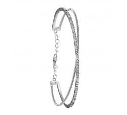 Bracelet ADAGIO ARGENT 925/1000, OXYDE DE ZIRCONIUM JOURDAN AOG 648