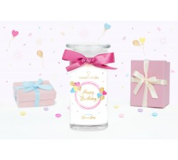Bougie Happy Birthday (Boucles d'oreilles) Jewel Candle 20205FR-B