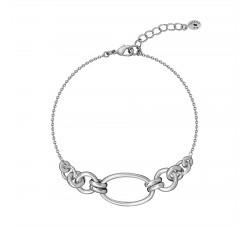 Bracelet souple HERITAGE Agatha - Argent 925/1000 - 02420640-050-TU