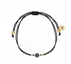 Bracelet cordon FUNK Agatha - Noir - Noir - 02440414-517-TU