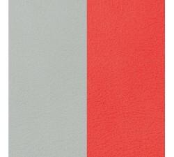 Cuir manchette 14 MM LES GEORGETTES Nuage / Coquelicot 702145899DU000
